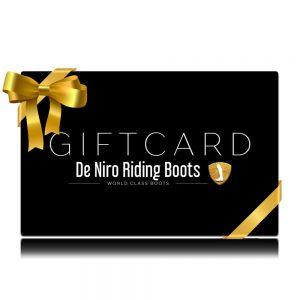 Giftcard De Niro Riding Boots