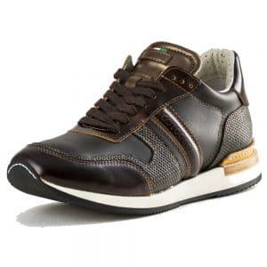 Niro Sneaker Intreccio Bronzo