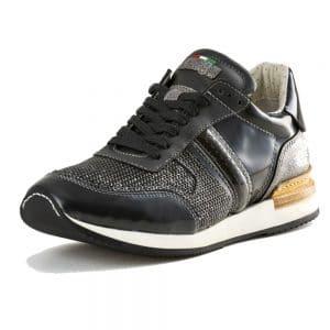 Sneaker_9061 Intreccio Silver