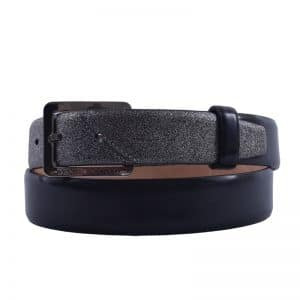 Belt_144_Brushed Grey Lame Argento1_KLAAR